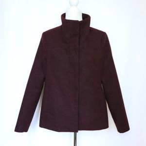 Old Navy Women's Funnel Neck Pea Coat  size Small